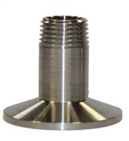 "1.5 TC x 1/2"" Male NPT THREADS Adapter"
