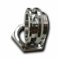 "TRUE Weldless 1.5"" TC Triclamp Bulkhead - STD up to 1/8"" Wall"