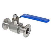 "Ball Valve with 1.5"" TC ports"