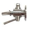 "1.5"" TC Sanitary Lever Style Sample Valve"