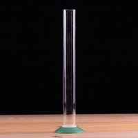 "Plastic Test Tube / Jar, 12"", Thread on base"