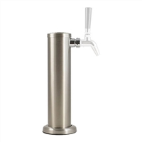 Tap Tower, Brushed SS, for Triple Faucets (not included)