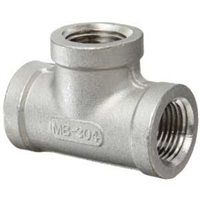 "NPT Tee Fitting Female 1/4"" NPT ***Quarter Inch Pipe Thread***"