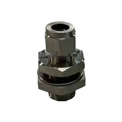 TRUE Weldless Bulkhead - With 3/8 Compression Fitting Bore Thru