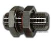 "True Weldless Bulkhead - With 1/2"" NPT Male Threads"