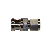 "Male Camlock x 1/2"" OD Tube Compression Adapter"