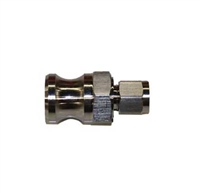 "Male Camlock x 1/4"" OD Tube Compression Adapter"