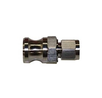 "Male Camlock x 3/8"" OD Tube Compression Adapter"