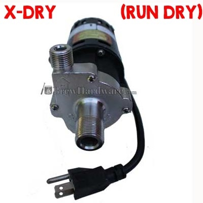 Chugger X-Dry (Run Dry Protection) Pump 115v Stainless Center Inlet Pump (XCPSS-CI-1)