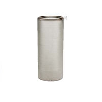"Stainless Steel Hop Containment Basket 6"" x 14"" 800 Micron"