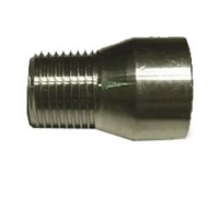 "Pull Through Solderable Bulkhead 1/2"" M/F NPT"
