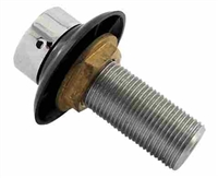 "Faucet Shank 3-1/8"" Stainless Steel"