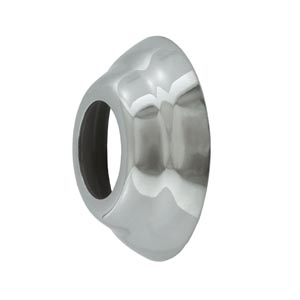 Faucet Shank Polished Stainless Steel Trim Ring / Flange