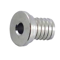"Tailpiece, 1/2"" Barb, Stainless Steel"