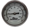 "Dial Thermometer - 3"" face, 2.5"" Probe, 1/2"" NPT"
