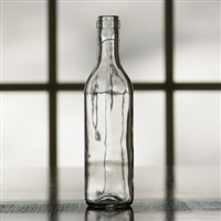 375 ml Clear Bordeaux Wine Bottles, Case of 24